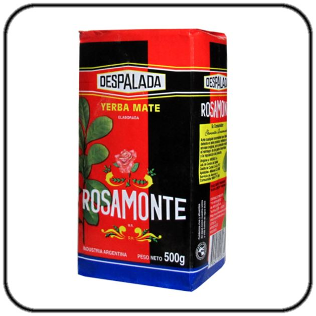Yerba Mate Rosamonte (Without Stems) 500g