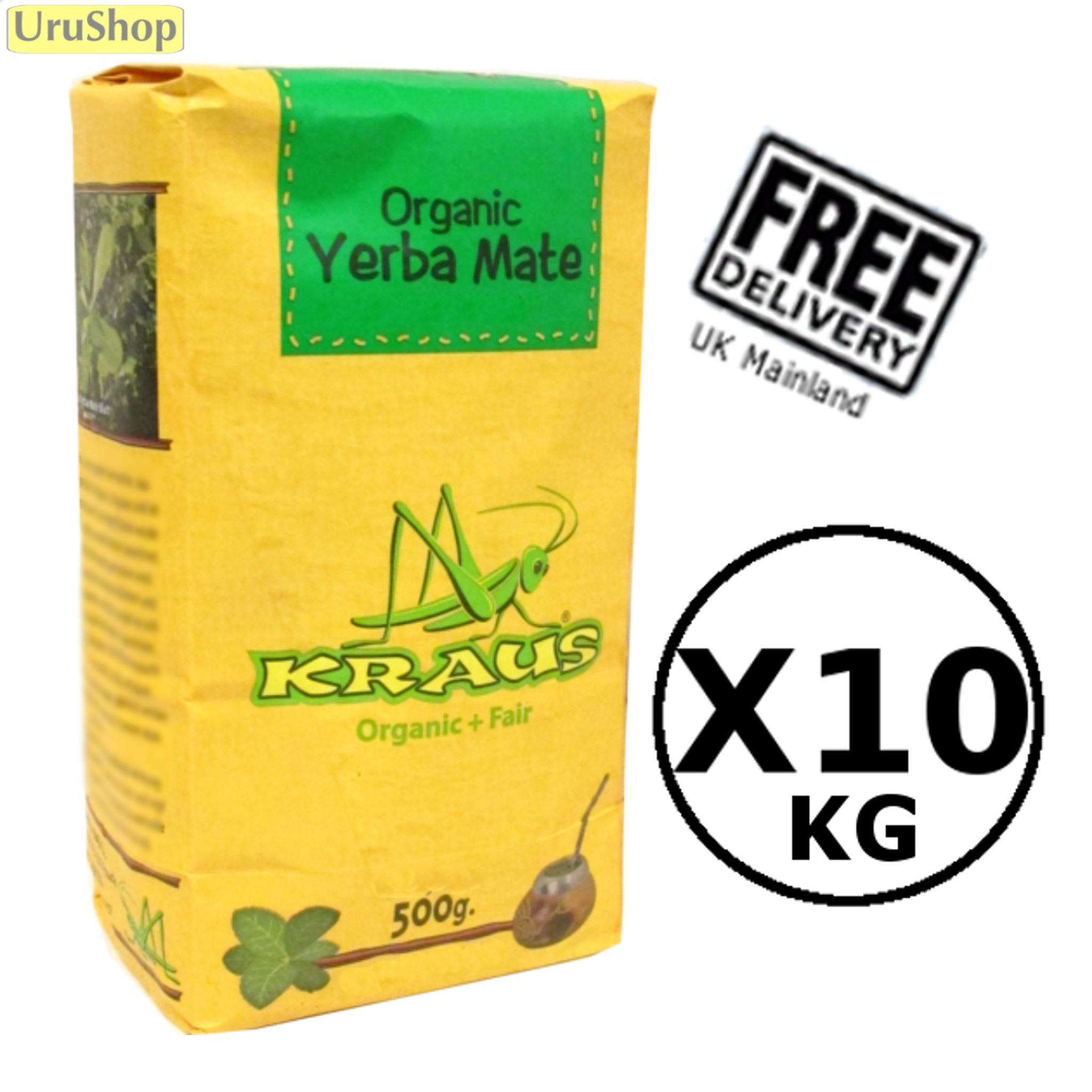 Bodymate herbal loss product weight - Value 10kg Kraus Organic Yerba Mate